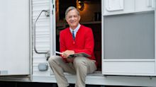 Tom Hanks is everyone's favorite neighbor in first photo from his upcoming Mister Rogers biopic
