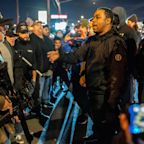 Tensions between left and right-wing protesters in Vancouver, Washington, after a Black man was shot dead by police officers in a drugs bust