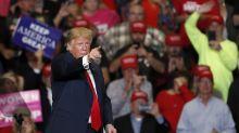 Fiery rhetoric marks Trump's final rally before Election Day