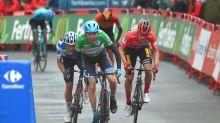Tearful Martin wins Vuelta stage 3 as Roglic keeps lead
