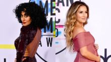 Tracee Ellis Ross Sparkles in Sequins and More Celebs on the AMAs Red Carpet