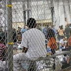 Children separated from parents at US border held in cages in Texas warehouse