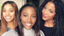 Who's the mom in these photos? You might not be able to tell
