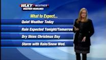Weather Forecast for December 23rd