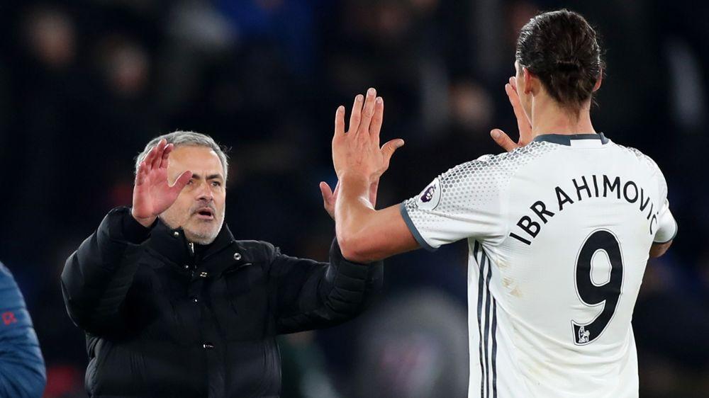 Manchester United: Mourinho deutet Ibrahimovic-Rückkehr an