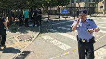 A bomb exploded outside the US embassy in Beijing