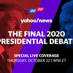 Trump, Biden face off in the final 2020 presidential debate