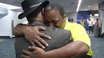 Father meets his son for first time in 40 years at SFO