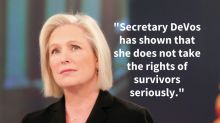Kirsten Gillibrand Thinks Betsy DeVos Is Making An 'Enormous Mistake'