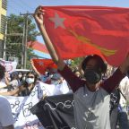 Myanmar junta attacks western town that resisted coup