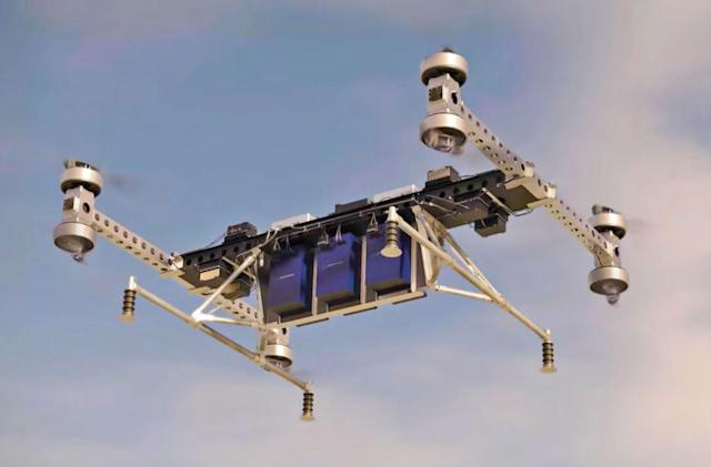 Boeing's prototype cargo drone can haul 500-pound loads