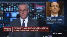 Deputy AG Rod Rosenstein is resigning: Axios