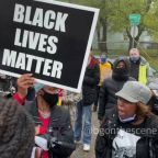'We're Mothers!': Protesters Rally in Waukegan After Fatal Police Shooting of Black Man