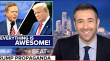 Ari Melber Tears Apart Lou Dobbs' 'Sunshine' Review Of The Trump White House
