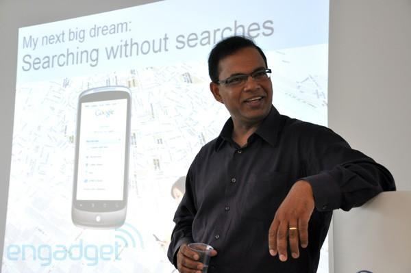 Google's Amit Singhal tells us about the dreams search engines are made of