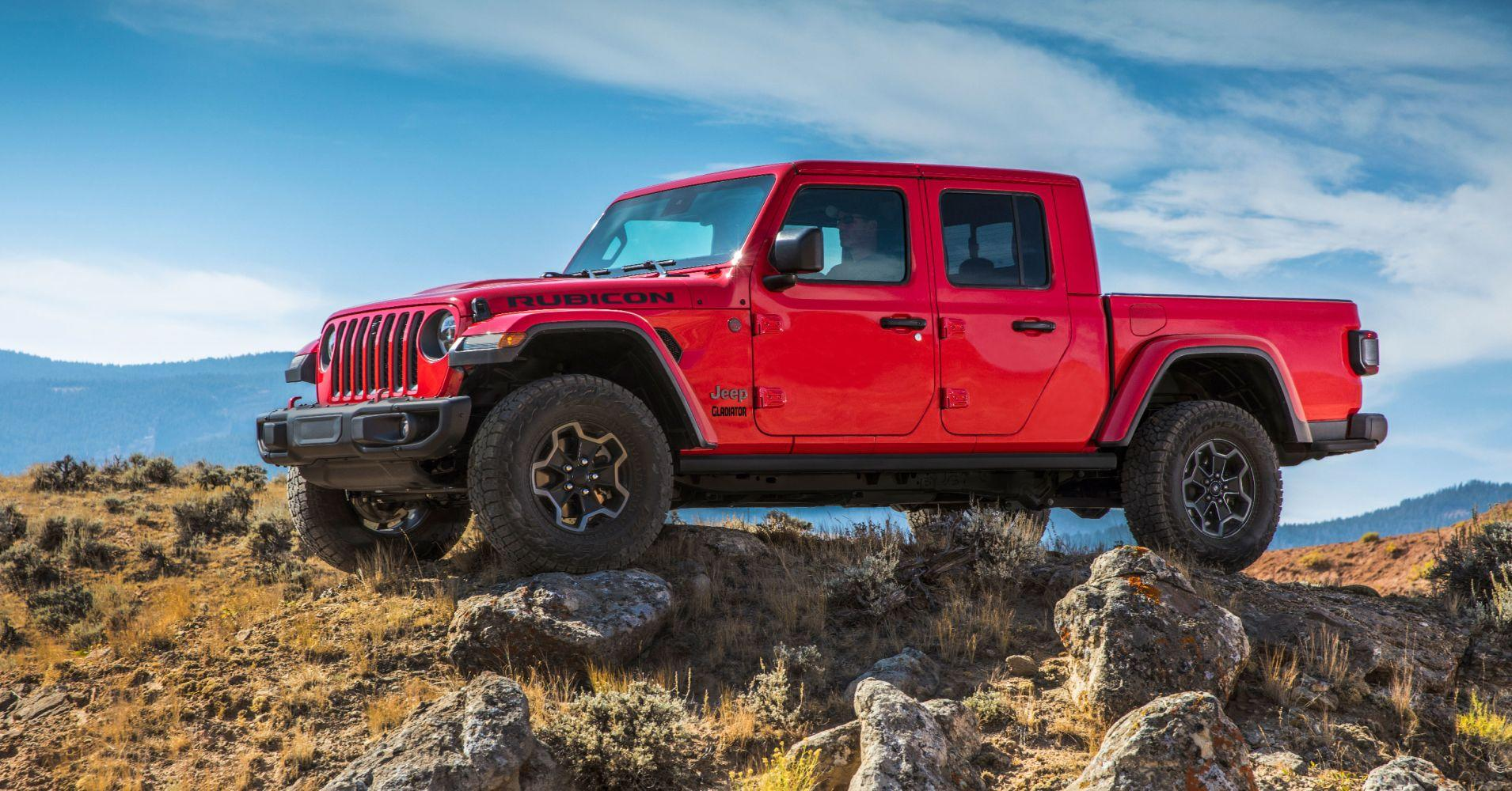 Part SUV, part pickup: Jeep makes a bold statement with its new Gladiator model