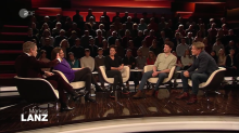 """Talk bei """"Markus Lanz"""" über das Alleinsein, Bayern und die Sozialen Medien"""