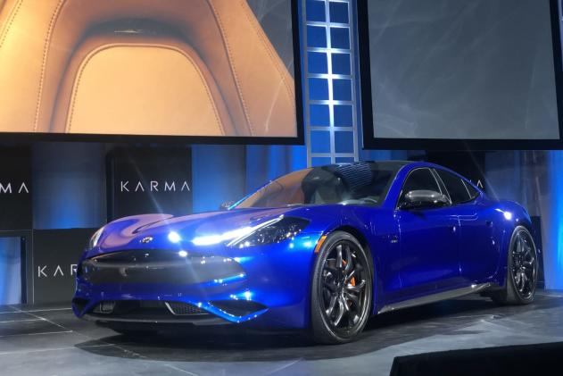 Karma will unveil an electric pickup truck in late 2020