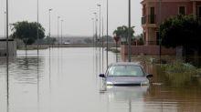 Temporal en España: ríos desbordados, autos apilados y seis muertos por las lluvias