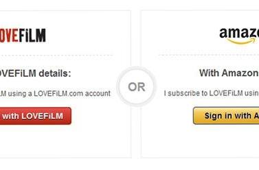 PSA: You can now use your Amazon account to log into Lovefilm