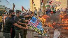 Palestinos protestam contra acordos de normalização das relações com Israel