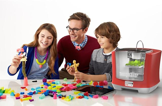 Mattel's new ThingMaker is a $300 3D printer for toys