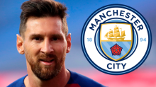 Manchester City believe they lead race for Lionel Messi after Barcelona transfer request