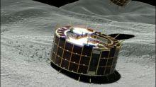 Japanische Raumsonde setzt hüpfende Mikro-Roboter auf Asteroid Ryugu ab