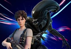 Ripley and the Xenomorph from Alien are the latest additions to 'Fortnite'