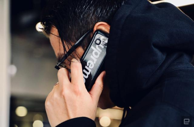 Supreme's burner phone is a hypebeast's dream