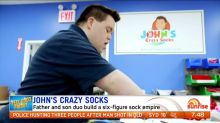 Father and son duo build a six-figure sock empire