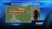 Man arrested in JSU professor's slaying