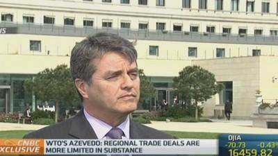 Trade deals are no substitute for WTO: Azevedo