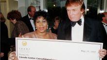 """Trump recuerda a Aretha Franklin como """"alguien quien trabajó para mí"""""""