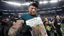 Chris Long reveals what he said to former teammate Tom Brady after the Super Bowl