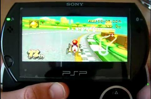 Lag-free Wii on PSP episode II: Mario Kart strikes back