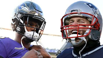 Super! Lamar wants to be Brady of Baltimore
