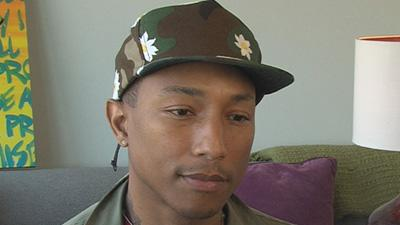 Pharrell Williams Discusses Collaborating With Daft Punk