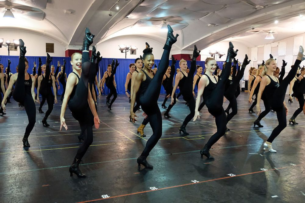 These photos from inside a Rockettes rehearsal are proof these women are pure athletes