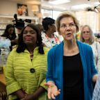 Elizabeth Warren calls to remove Confederate monuments 'and put them in museums where they belong'