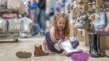 Clarks to swap new children's shoes for free if they grow out of them before February