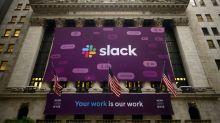 Slack stock soars, Micron faces pressure