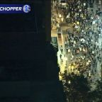 Chopper 6: Protesters march through Philadelphia streets for Breonna Taylor