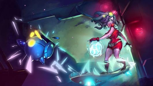 Awesomenauts 1.4 coming next week, Voltar more omniscient