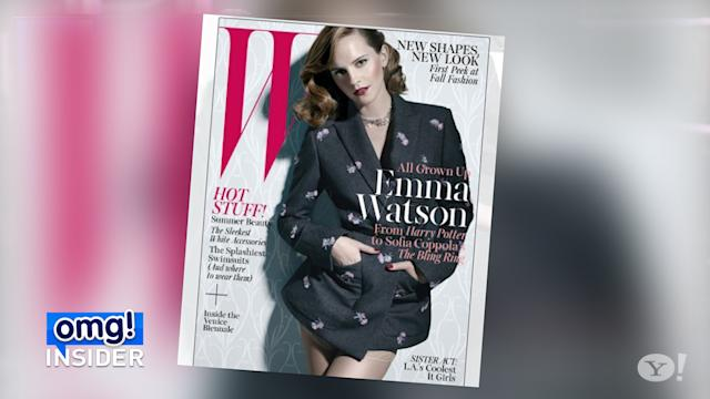 Emma Watson: 'I Never Wanted to Grow Up Too Fast'