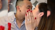 Aussie woman's engagement photo goes viral for hilarious reason