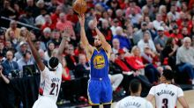 Warriors put Blazers on brink, Gasol's floater sinks Spurs