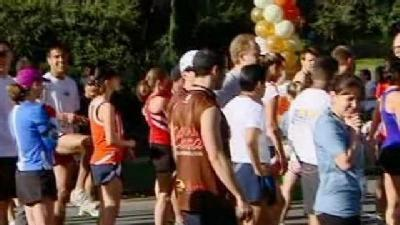 Thousands Of Runners Participate in the Zoo Zoom