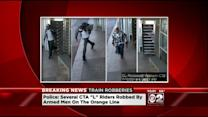 Surveillance Images Released Of Orange Line Robbery Suspects