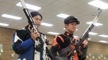 射擊排名第14 台灣混雙無緣決賽